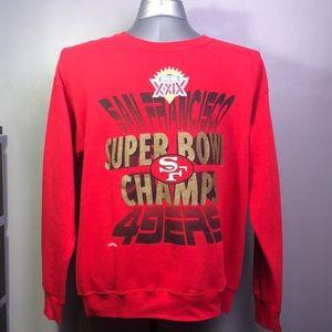 Other - Vintage San Francisco 49er Sweater Size Large